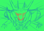 Scary Tfp Soundwave Sketch by XD-or-what