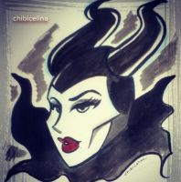 Maleficent by ChibiCelina
