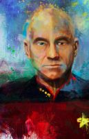 Captain Picard by j2Artist