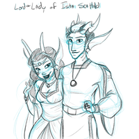 Lord and Lady of the Hold by chibijaime