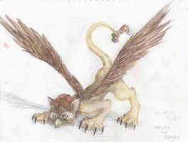 Griffin's Griffin by NessaTheCoat-rack