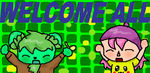 Welcome banner by TaintedTruffle