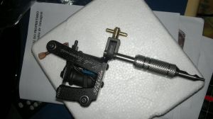 New Tattoo Machine by bcontimax