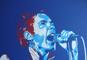 Johnny Rotten by emilygray