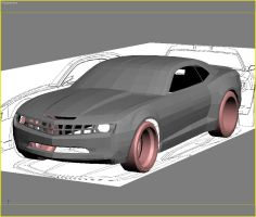 Camaro WIP by Animaleante