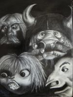 The Goblins of Labyrinth by katiesparrow1