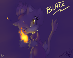 Blaze collab by Mitzy-Chan