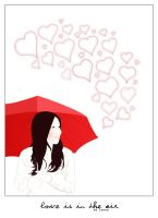 Love is in the air by lunka