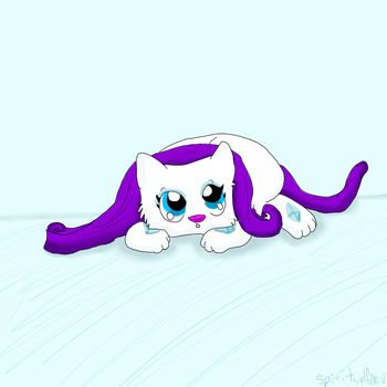 Baby rarity cat by iW-O-L-F
