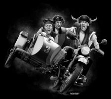Three Stooges MC by hardnox757