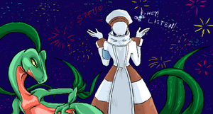 iScribble: Pokemon Heart Event Wtf by SkooIsCoo