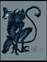 Alien Black Bioluminescence by MTibbs-89