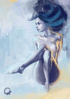 Nude painting by GradyNg