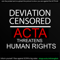 Deviation Censored: ACTA by SpellboundFox