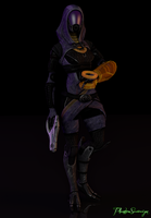The Quarian Machinist by PhantomSovereign