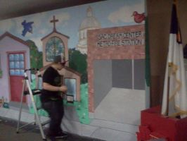 Painting the Puppet Show 2012 by InkByInk