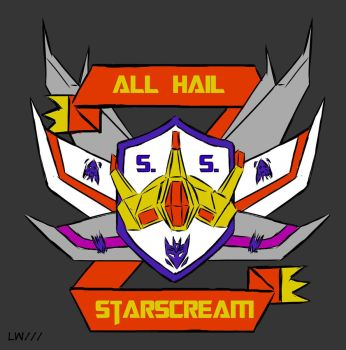 Starscream T-shirt print by Logna