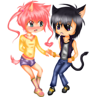 .::Chibis For Tia::.x by Sasuke323