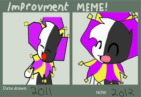 Improvement meme by FriendlyPoe