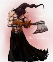 E is for... EXECUTIONER by thedarkcloak