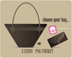 Luis Vuitton  bags - png icons by Valen23901
