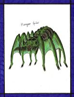 Hangar Spider by MonsterKingOfKarmen