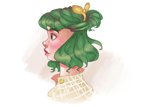 Green by Linsketches