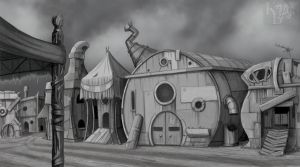 Scrounger Town by Girsteroth