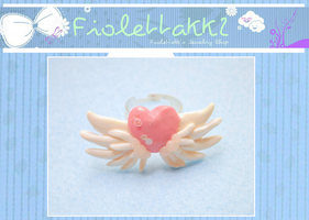 FIOLETTAKK2: Pink Heart Angelic Cosmic Power by Fiolettakk2