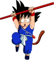Dragon Ball - Kid Goku 7 by superjmanplay2
