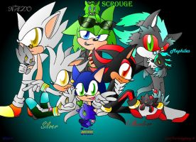 sonadilver and more xD by JezzTheHedgehog
