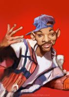 Will Smith caricature 2 by Steveroberts