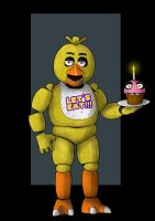 chica the chicken by nightwing1975