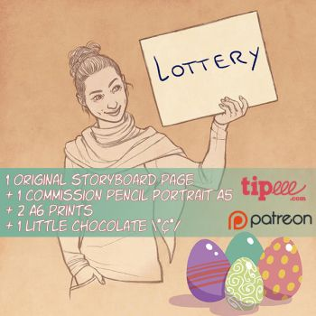 Easter lottery 2017 [CLOSED] by Ludimie
