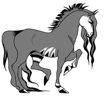 Adoptable horse for sale - CLOSED by daunt-less