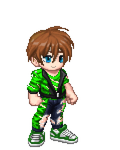 Gaia Online Dream Avatar, Ripped Green by LevelInfinitum