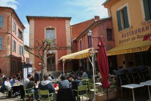 Have a rest in Roussillon by ingeline-art