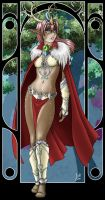 Lady of the Woods by Jackwrench