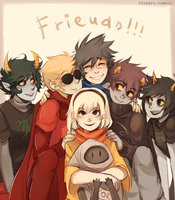 Friends! by ikimaru-art