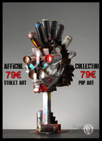 affiche#collector#spiktri#skull-punk by SPIKTRI