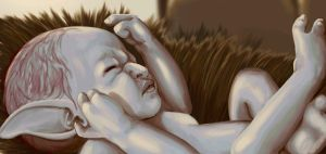 Troll Baby Speedpaint by cryptfever