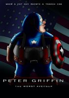 PETER GRIFFIN WORST AVENGER by BOTIMUSPRIME