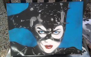 Catwoman by spraypaintscott