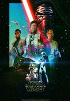 Star wars:The Force Awakens Fanmade Poster by punmagneto