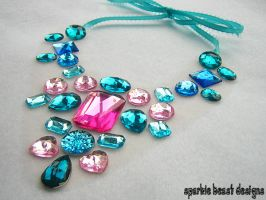 Cotton Candy Necklace by Natalie526