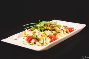 Pasta with quikfried vegetables by CJacobssonFoto