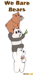 We Bare Bears by thelionjack
