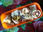 mango apple crape bento by plainordinary1