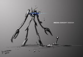 Mecha Concept design by benedickbana