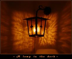 A Lamp In The Dark by penelopew
